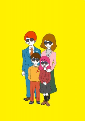 glasses family