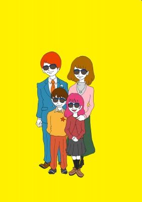 glasses family