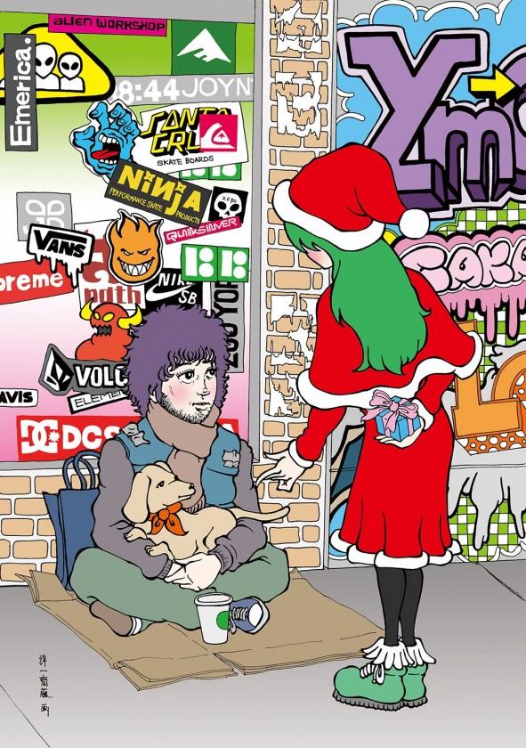 クリスマスとホームレス